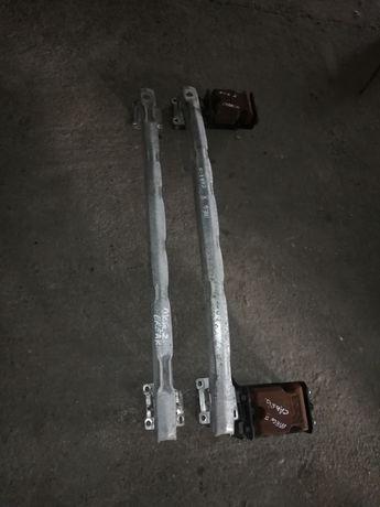 Armatură bară spate originală Renault Megane 2/II BREAK/CABRIO(2003+