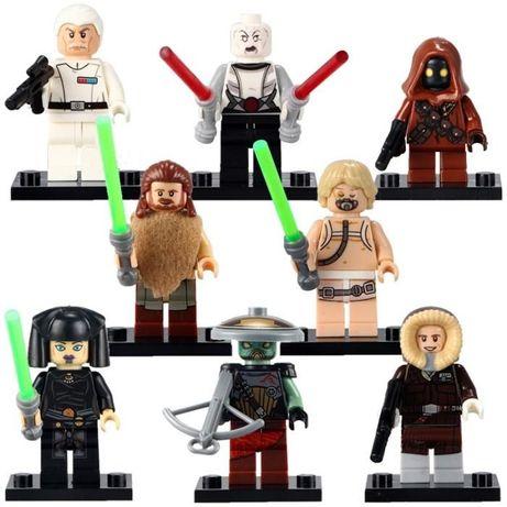 Set 8 Minifigurine tip Lego Star Wars cu Asajj Ventress