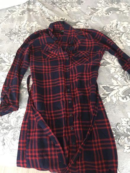 риза-рокля като нова