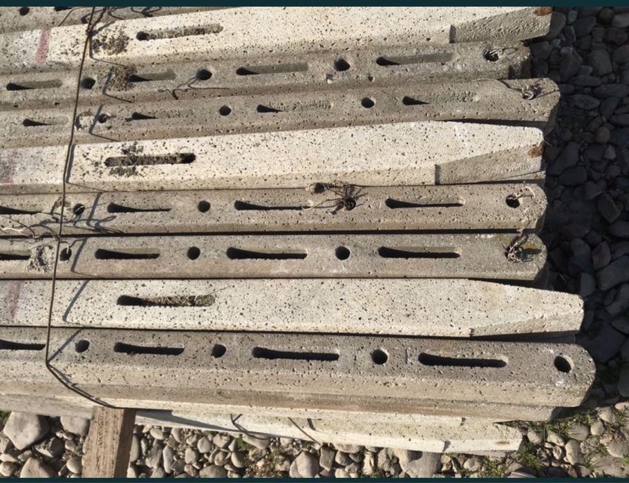 Stalpi de beton pentru gard si vie