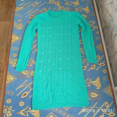 Зимний платье туника