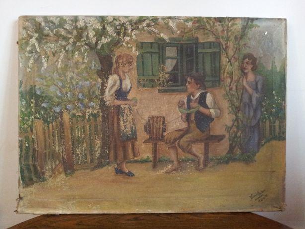 Tablouri pictate 1933