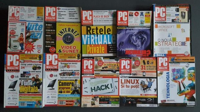 Revista PC Magazin 1999 - 2008
