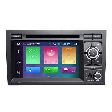 Radio Navigatie GPS Android 10 2+32GB sigilata Audi A4 B6 B7 Seat Exeo