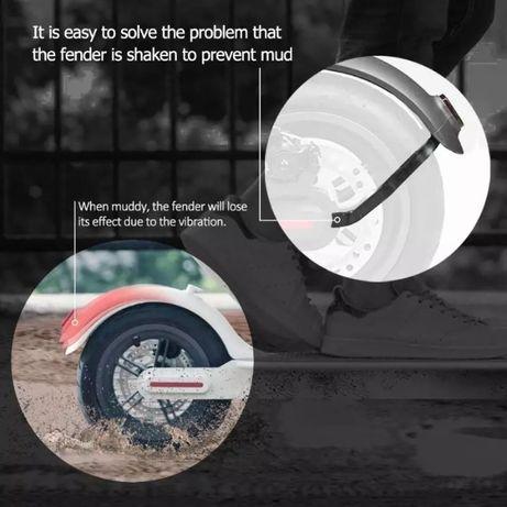 Suport sustinere aripa spate Xiaomi Mijia M365 & Pro protectie cablu