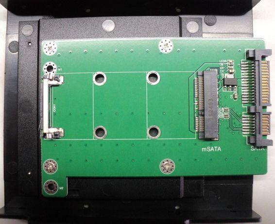 Adaptor SSD de la mSATA la SATA 3.0 NOU
