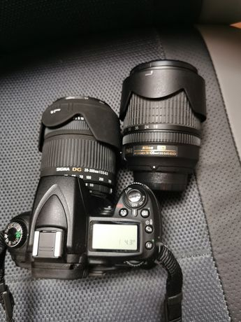 Nikon D90 + 2 obiective + blitz