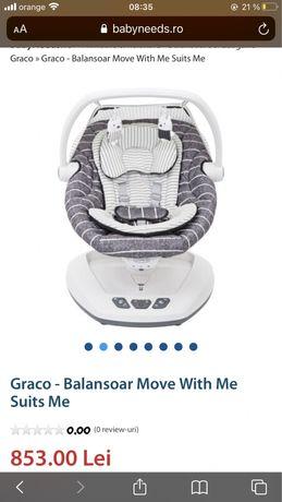 Balansoar bebelusi Gravo Move With Me Suits Me
