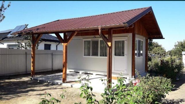 Vand container modular tip casa cu terasa. Mai de vânzare și alte tipu
