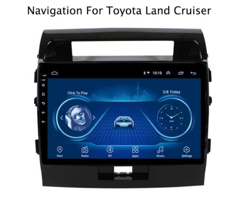 Navigatie dedicata Android -TOYOTA Land Cruiser-10inch- 2007 - 2015 Bucuresti - imagine 1