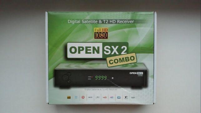 Комбинированный Т2+S2 ресивер Open SX2 Combo