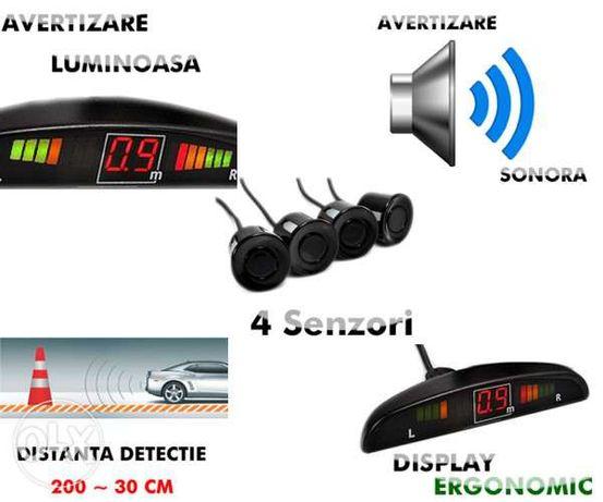 Senzori parcare auto PNI-doua unitati centrale-produs nou