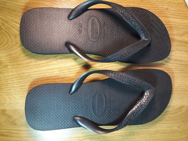 Slapi papuci flip flops negri Havaianas