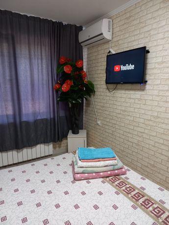 Квартира посуточно на Абая правда час 1500. Ночь 7000