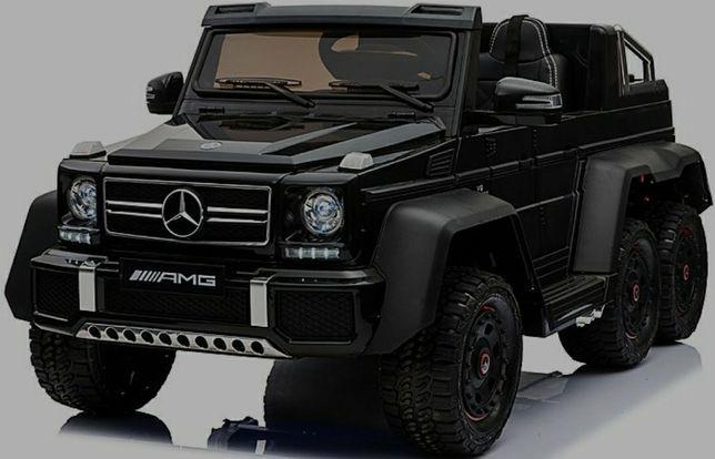 Двухместный электромобиль Mercedes Benz G63 6x6 4WD