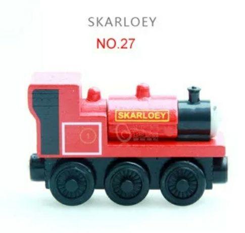 Trenulete din lemn Prietenii lui Thomas