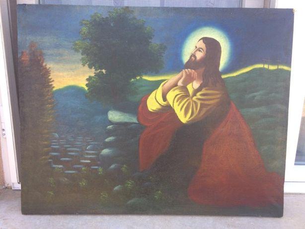 Tablou Religios vechi pictat in jurul 1800/1850