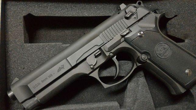 RARITATE-Pistol Airsoft TAURUS Full Metal co2 Modificat PUTERNIC 6mm