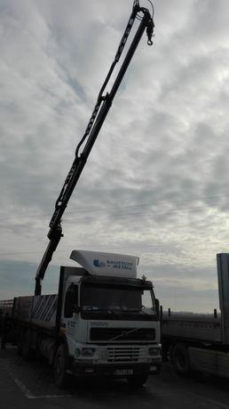 Închirieri camion cu macara prelata 7.5t