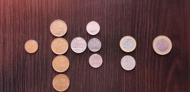 Set monede Cehia-Turcia-Germania-Ungaria