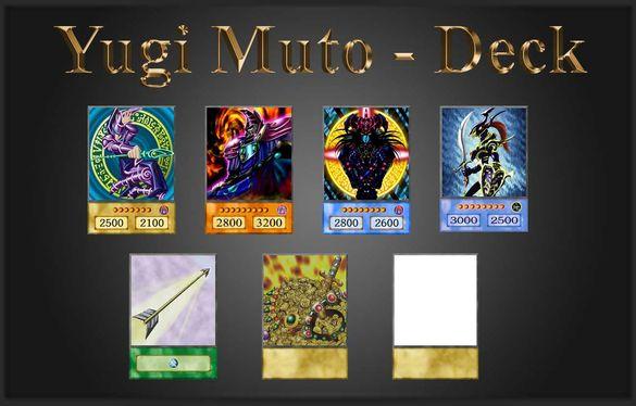 Yu-Gi-Oh! Anime Style: Yugi Mutou/Yami Yugi - Duelist Kingdom Deck