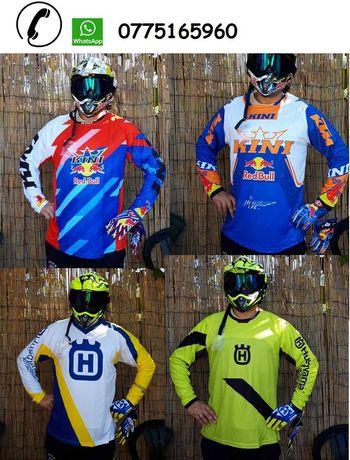Bluza tricou moto enduro downhill atv motocross quad buggy bicicleta
