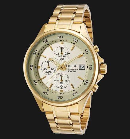 Seiko Sports Chronograph Watch SKS482P1