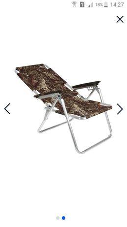 Кресло-шезлонг новое