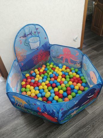 Продам сухой бассейн в месте с шарами
