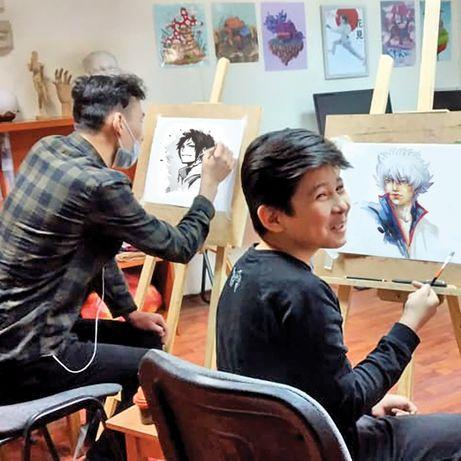 Обучение рисованию: рисунок, живопись, МАНГА, рисов. на компьютере