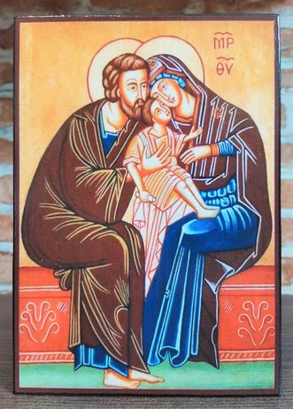 Икона на Светото Семейство icona Svetoto Semeistvo