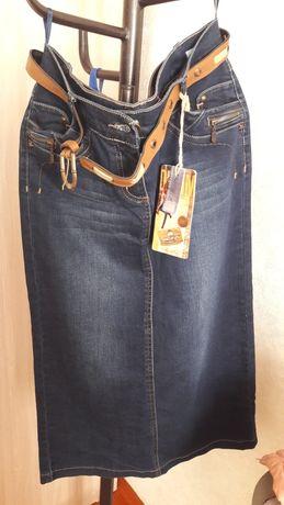 Пиджак и джинсовая юбка