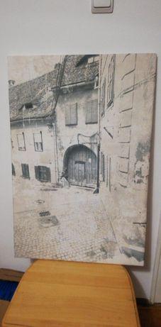 Tablou Canvas Sibiu Piata Aurarilor 90x60