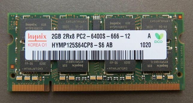 Memorie RAM 2Gb DDR2 800Mhz PC2-6400S Laptop