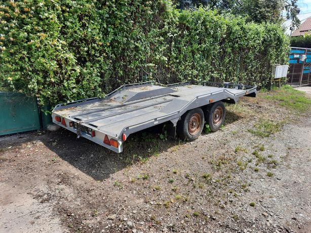 Vand Platforma auto solida 2t (trailer, slep)