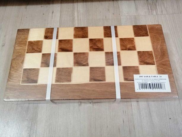 Joc șah și table, NOU, sigilat