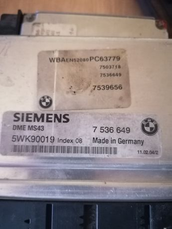 BMW e46 e39 m54b30, m54b25, m54b22, m52b20tu, m52b25tu, m52b28tu