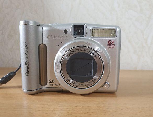 Фотоапарат Canon PowerShot A700