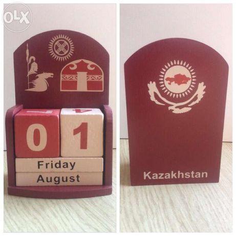 Сувенир- вечный календарь.