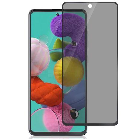 Folie Sticla Curbata 6D Privacy - Samsung S20FE A21S M21 M31 M31S M51