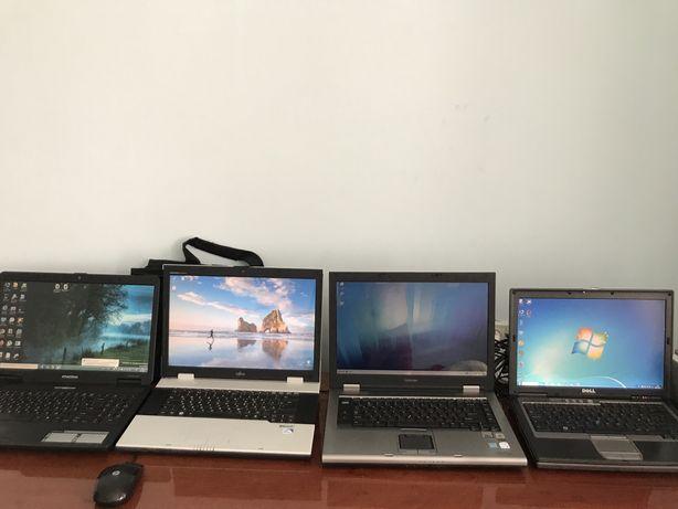 Продам ноутбуки Тошиба, Dell, Фуджитсу, Емашинес, по 25000 тг на выбор