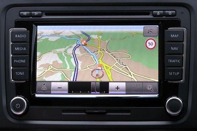 SD CARD GPS Navigatie VW RNS 315-RNS 310-RNS 510 Harti Europa 2020