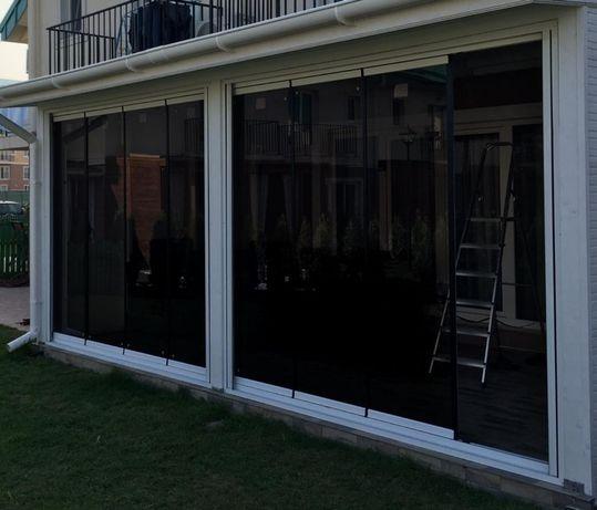 Sticla securizată sau duplex terase balcoane foisoare