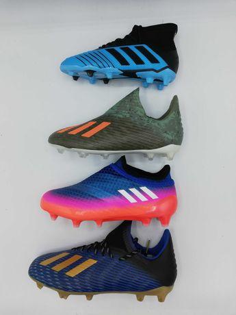 Ghete fotbal copii Adidas X 19.1 FG, predator FG si Messi FG