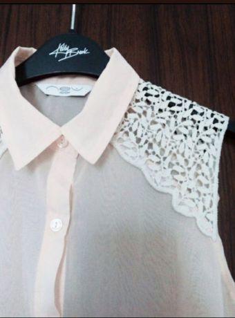 Top dama New Look roz pudra
