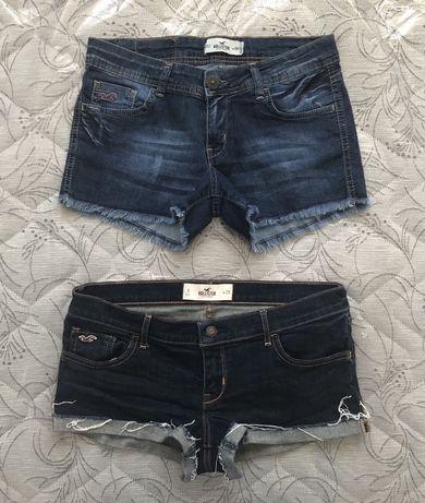 ОРИГИНАЛ Hollister Women's Denim Shorts дамски къси панталонки - р.28