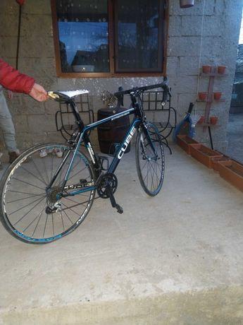 Bicicleta semicursa carbon