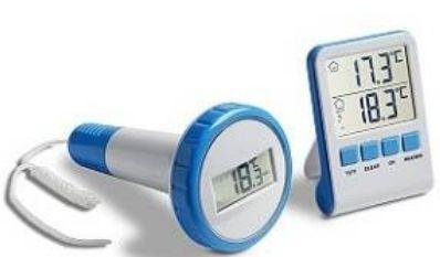 Безжичен термометър за басейн
