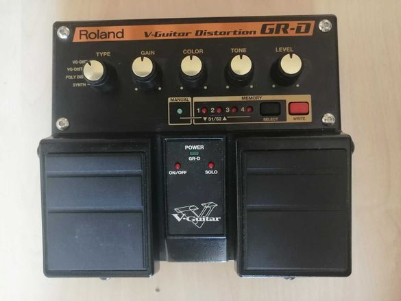 Roland GR-D V-Guitar Distortion - Педал за електрическа китара