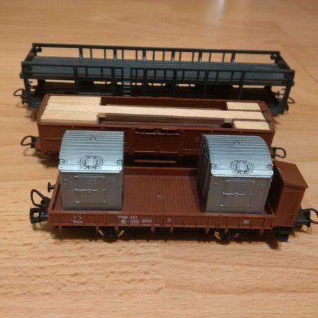 Lot de 3 vagoane marfa LIMA -ITALY, scara H0 - Diorama - Trenulet
